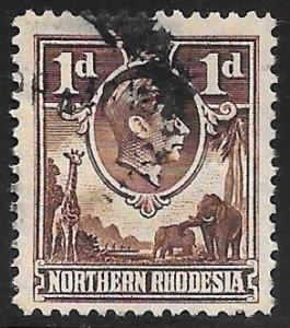 [18946] Northern Rhodesia Used