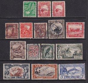 New Zealand 1935 SC 185-198 Used Set