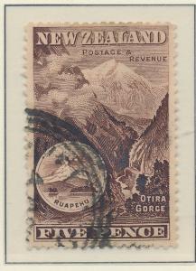 New Zealand Stamp Scott #77, Used - Free U.S. Shipping, Free Worldwide Shippi...