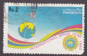Pakistan 772 International Space Year 1992
