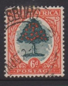 South Africa Sc#25a Used
