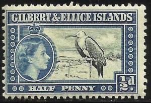 Gilbert & Ellice Islands 1956 Scott# 61 MNH