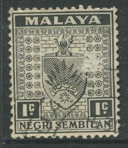 STAMP STATION PERTH Negri Sembilan #21 Arms Definitive Used 1935-41
