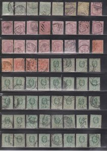 CEYLON Large Lot Of Used Stamps From All Eras - Duplication - Some Minor Faults