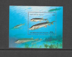 FISH - AZERBAIJAN #392  MNH