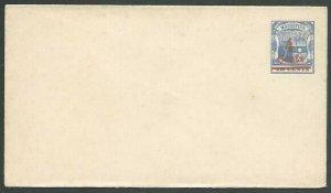 MAURITIUS 4c on 18c Envelope fine unused..................................56532