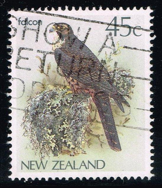 New Zealand #767 Falcon; Used (0.50)