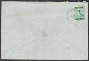 GB LUNDY 1967 cover - Puffin stamp - .......................................F849