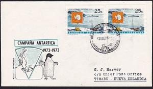 ARGENTINE ANTARCTIC cover 1973..............................................8206