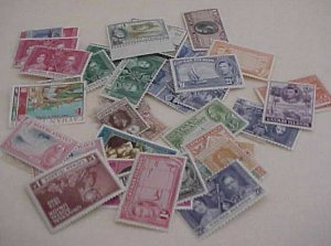 CAYMAN ISLANDS 44 STAMPS MOSTLY MINT LIGHT MOSTLY DIFFERENT