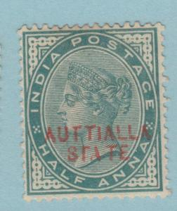 INDIA PATIALA 7a MISSING P ERROR MINT HINGED OG * NO FAULTS EXTRA FINE !