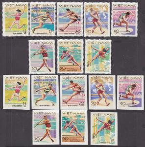 Viet Nam Dem Rep Sc 926-933 NGAI. 1978 Sports, Perf & Imperf sets cplt VF