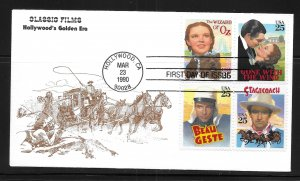 USA 2448a Classic Films KMC Venture First Day Cover FDC (z3)