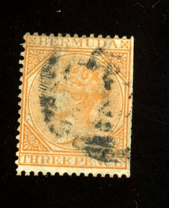 BERMUDA #3 USED FINE Cat $80