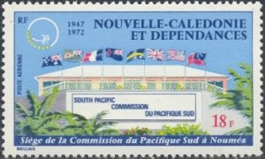 New Caledonia Scott #'s C87 MNH