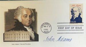 Fleetwood 2216 President John Adams White House