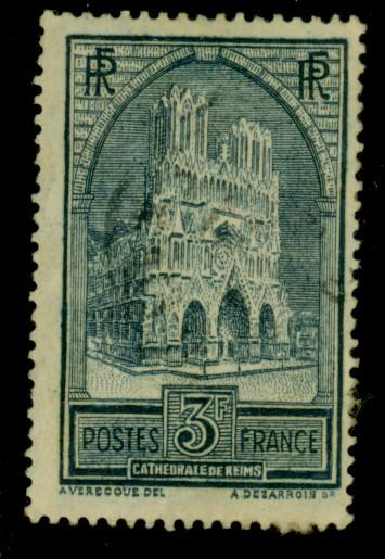 France #247B Used F-VF Paper on back Cat$24