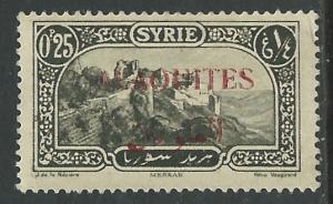 Alaouites # 26  Overprinted on Syria  (1)  Unused