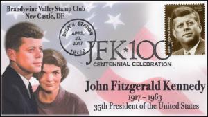 17-079, 2017, JFK-100, John F Kennedy, Centennial, New Castle DE