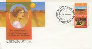 1985 Australia Australia Day (Scott 942-43) FDC