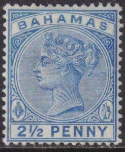 Bahamas 1884-1890 28a Mint