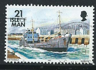 Isle of Man  SG 544 VFU imprint 1997