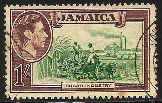 Jamaica 1938 Scott# 125 Used