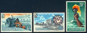 HALF-CAT BRITISH SALE: TANGANYIKA #45-56 Mint NH