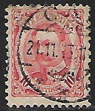 Luxembourg # 82 - Duke William IV - 10ct - used...(KlGr)