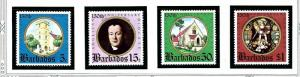 Barbados 420-23 MNH 1975 Anglican Diocese Anniv