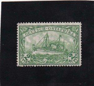 German: East Africa: Sc #40, MH (42210)