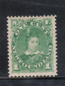 Newfoundland #45a Very Fine Mint Original Gum Hinged