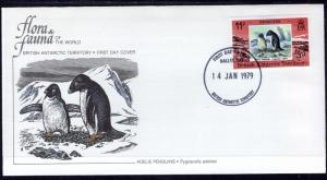 British Antarctic Territory 74 Penguin Fleetwood U/A FDC
