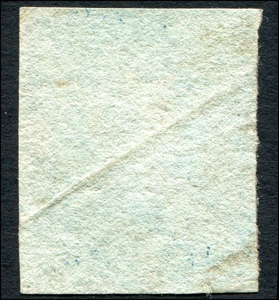 Great Britain - Scott #4 - 1841 QV 2d Blue - Used