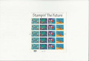 US Stamps Sheet/Postage Sct #3417a Stampin the Future MNH F-VF OG  FV 6.60