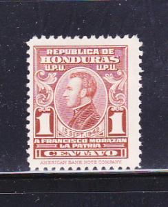 Honduras RA2 Set MHR General Francisco Morazán (A)