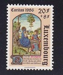 Luxembourg   #B361      MNH   1982  Christmas 20fr