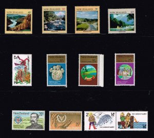 NEW ZEALAND STAMP MNH STAMPS COLLECTION LOT