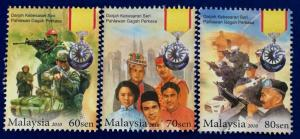 Malaysia Scott # 1318-20 Grand Knight of Valour Stamps Set MNH