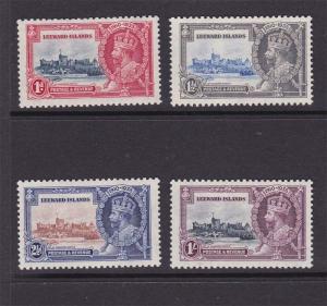 Leeward Islands 1935 Silver Jubilee Sc 96-99 set MH