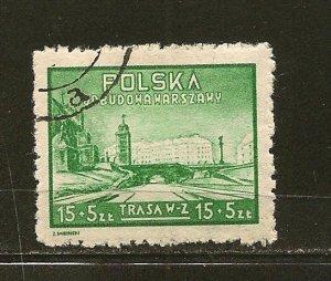 Poland B58 Semi Postal Used