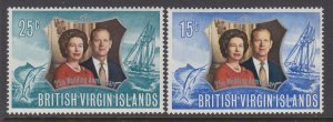 British Virgin Islands 241-242 MNH VF