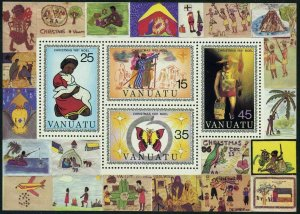 1981 Vanuatu 613-616/B2 Christmas
