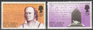 Pitcairn Is #182-3   MNH    (S9536)