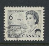 Canada SG  607 perf 12½ x 12  ex booklet Used