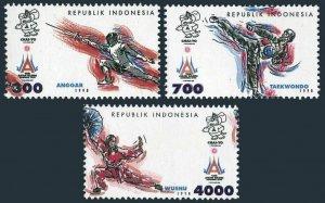 Indonesia 837-839,MNH.Michel 725-727.Thomas Cup Badminton Word Championship,1973