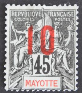 DYNAMITE Stamps: Mayotte Scott #29 – USED