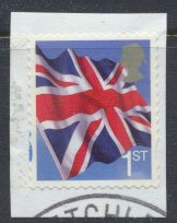 Great Britain SG 2821 SC# 2538  Used Self Adhesive Smilers Booklet Flag  see ...