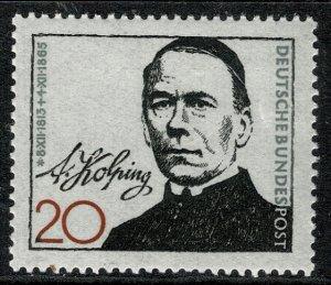 GERMANY 1965 DEATH CENTENARY of ADOLF KOLPING MINT (NH) SG1398 P.14 SUPERB