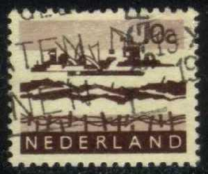 Netherlands #403 Dredging in Delta; used (0.25)